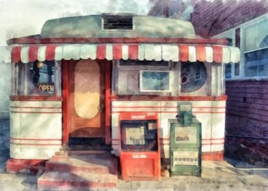 A classic American diner - the Tumble Inn diner of Clar ...