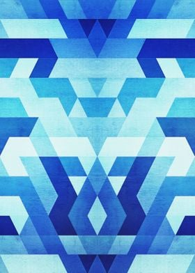 Awesome great colorful geometric hipster pattern design ...