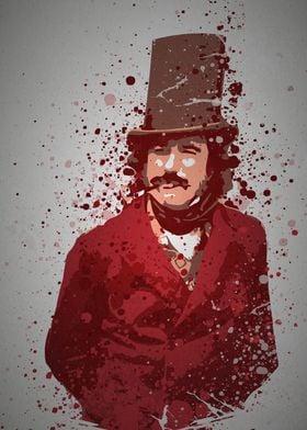 """""""Bill The Butcher"""" Splatter effect artwork inspired by  ..."""