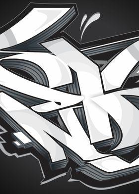 Graffiti black