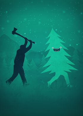 Funny Humorous design ideal for Christmas / Santa Claus ...