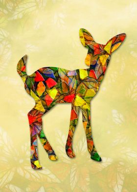 Animal Mosaic - The Fawn