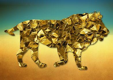 Animal Mosaic - The Lion
