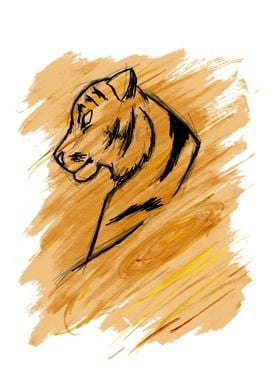 The Third Sign - Tiger - Wood Element