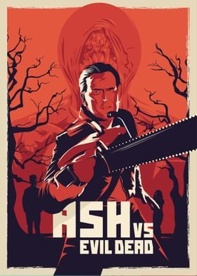 Ash vs evil dead - alternative series poster