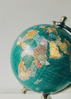 I have always loved globes and maps & study them lookin ...