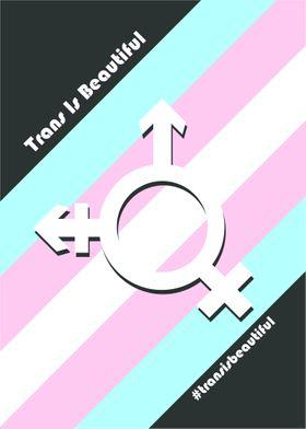 Trans is Beautiful vector art!