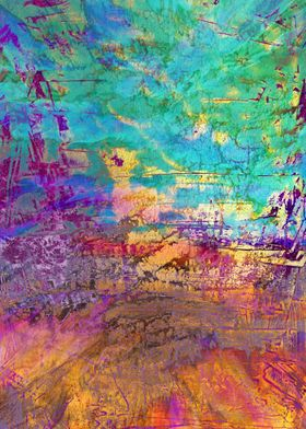 abstract print 11/15c