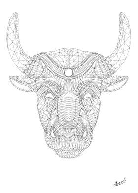 Lineshaped bullshead by Nicholas Moens