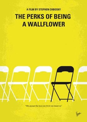 No575 My Perks of Being a Wallflower minimal movie post ...