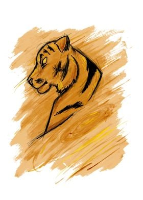 Tiger Sign - Additional Detailing - Customization Avail ...