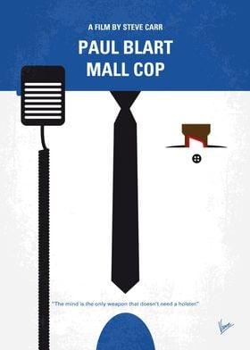 No579 My Paul Blart Mall Cop minimal movie poster When ...