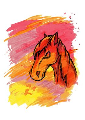 Horse Sign - Additional Detailing - Customization Avail ...