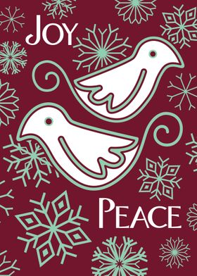 Doves of Joy and Peace