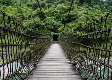 Rope bridge - Hualien, Taiwan