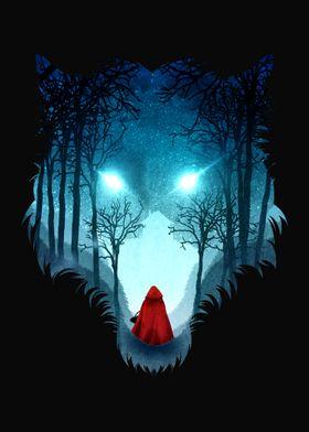 Big Bad Wolf (dark version)