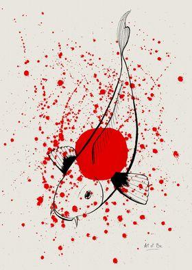 """""""Bleeding Japan"""" by Art et Be - 2015 www.artetbe.com"""
