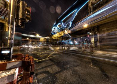 One from my Manchester City Centre at Night series depi ...