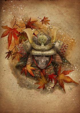 Late autumn samurai