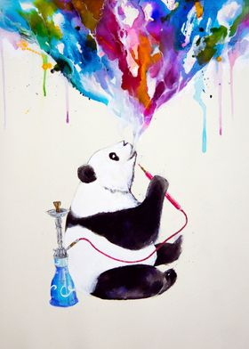 """Chai"" my shisha panda from the Chilled Bears series of ..."