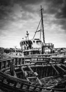 Epaves à Camaret sur Mer