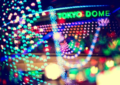 Love Tokyo Dome Colorful Psychedelic Heart Lights - Thr ...