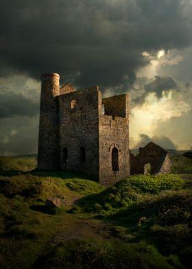 Forgotten castle in Cornwall