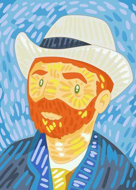 Self- Portrait Van Gogh