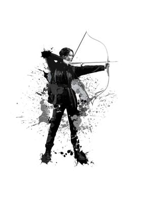 Katness Everdeen from The Hunger Games
