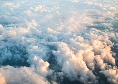 Rise above the clouds and look down at all you have bel ...