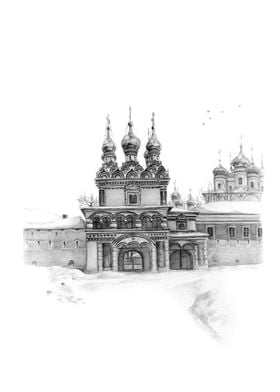 Monastery gate G10-06 By Svetlana Ledneva-Schukina Iosi ...