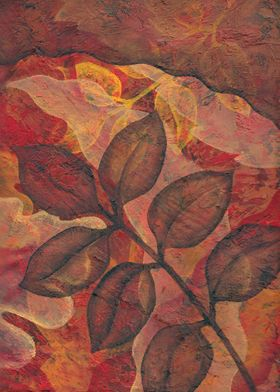 Autumn Leaves 2 oil painting