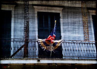 Saints and Sinners. Old Glory French Quarter style.