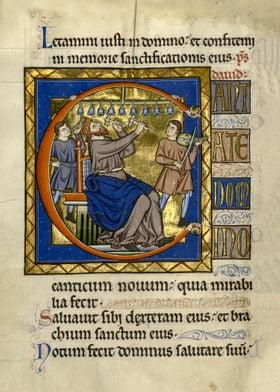 Initial C: David Playing BellsBased upon:Master of the  ...