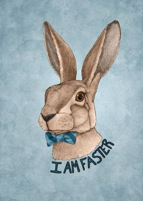 Mr Hare Is Faster