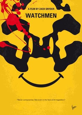 No599 My watchmen minimal movie poster In an alternate ...