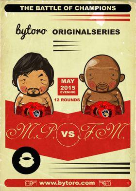 The Battle of Champions, Manny Pacquiao vs. Floyd Maywe ...