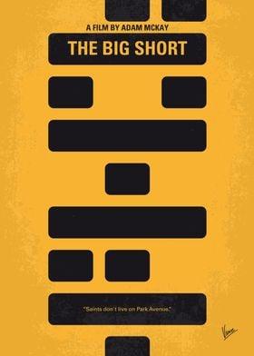 No622 My The Big Short minimal movie poster Four deniz ...