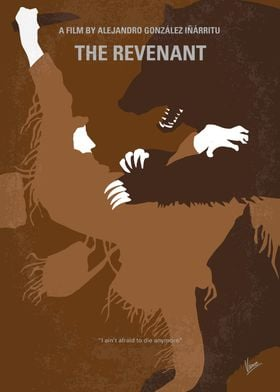 No623 My The Revenant minimal movie poster A frontiers ...