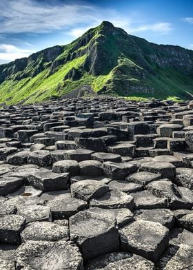 The Giant's Causeway is an