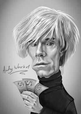 Andy Warhol Caricature
