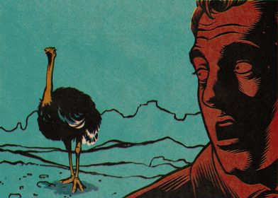 Pulp Panel II: The ominous ostrich...