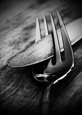 Modern dark monochromatic kitchen art photography by Cl ...