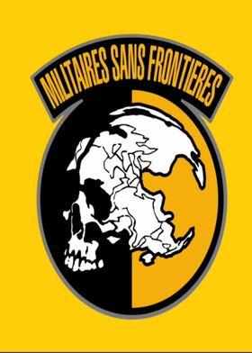 militaire sans frontières emblème
