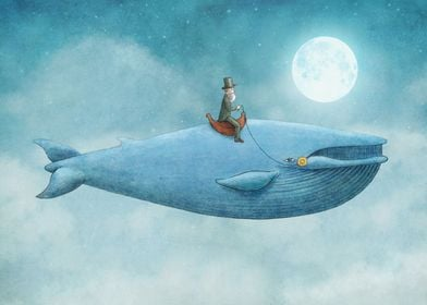 Whale Rider This is a collaboration I did with my brot ...