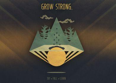 Grow Strong | Digital Art, 2016