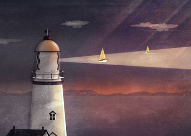 Sea of Light | Digital Art, 2016