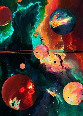 Silouhette in Space