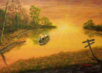 """Fisherman's Alley"" by Jack Lepper"