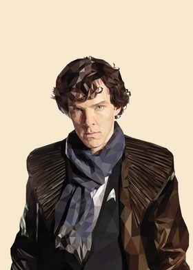 S K Holmes close up